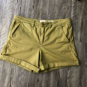 CHINO BY ANTHROPOLOGIE RELAXED SHORT